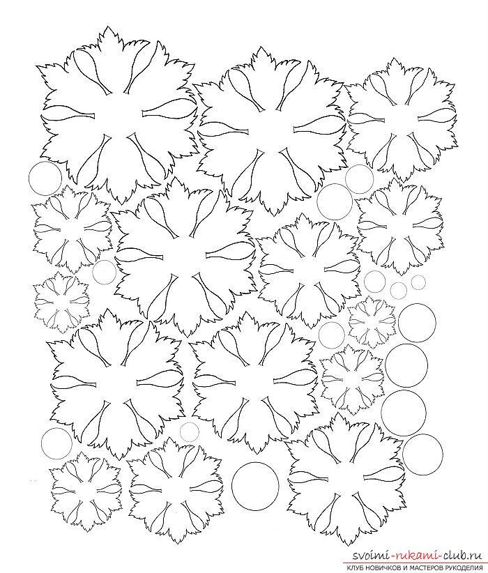 Как сделать плоскую и объемную аппликацию из цветной бумаги, различные виды аппликаций и пошаговые фото создания поделок. Фото №9