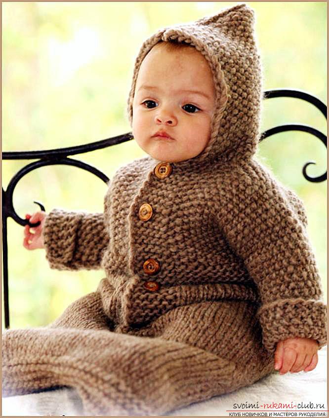 Вязание спицами для новорожденных, советы и хитрости по вязанию одежды для маленьких детей, шапочка для новорожденных своими руками, как связать пинетки для новорожденных, уроки вязания спицами с описанием, рекомендации и мастер-классы.. Фото №4