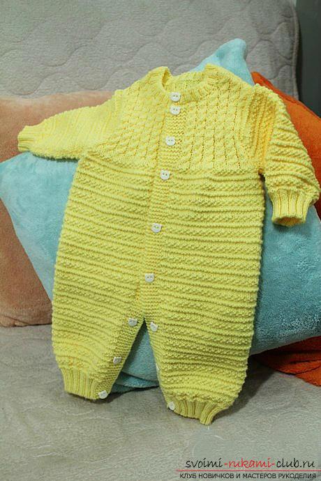 Вязание спицами для новорожденных, советы и хитрости по вязанию одежды для маленьких детей, шапочка для новорожденных своими руками, как связать пинетки для новорожденных, уроки вязания спицами с описанием, рекомендации и мастер-классы.. Фото №3