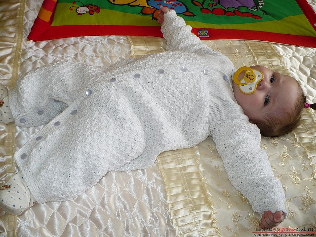 Одежда для маленького ребенка своими руками