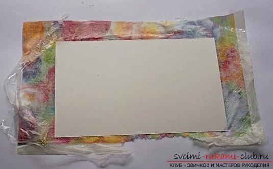 Скрапбукинг быстрого конверта своими руками - мастер-класс по скрапбукингу. Фото №5