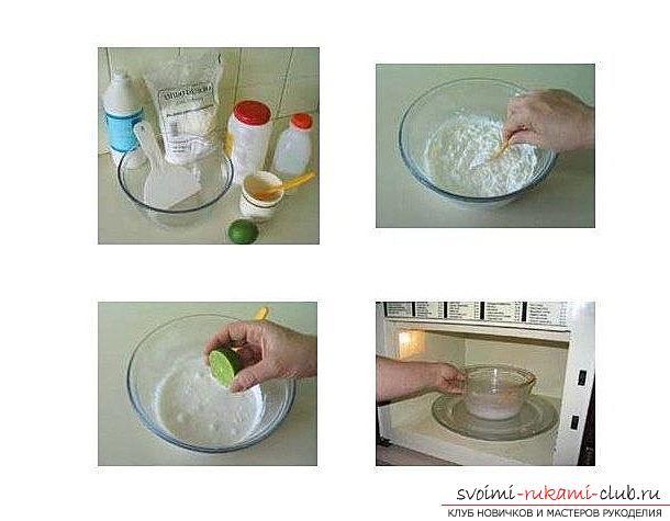 Как сделать полимерную глину своими руками для лепки - техника домашнего фарфора