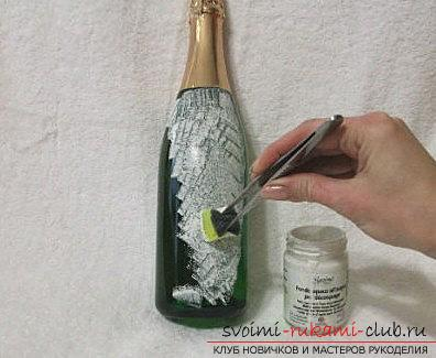 Декупаж шампанского своими руками фото 25