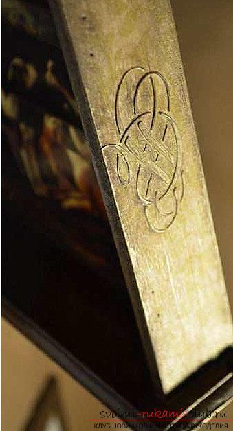 Декупаж ключницы своими руками - мастер-класс и фотографии для декупажа. Фото №11