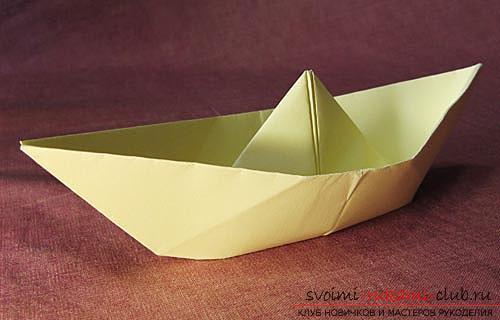 Сделать красивый кораблик из бумаги.</p> </div> <p> Схема оригами по фотографиям.. Фото №3″/> </p> <p>Можно также <strong>сделать кораблики водонепроницаемыми</strong>.</p> <p> Для этого их необходимо опустить в расплавленный, пчелинный воск, либо воспользоваться парафином, которые укрепляют бумагу и <strong>не деформируют её качества.</strong> </p> <p>Вот и всё. Кораблик готов к отправлению.</p> <p> Вы можете самостоятельно воспользоваться этой идеей и реализовать ее максимально быстро.</p> </div> <div class=