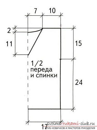 Как связать крючком летнюю маечку для детей разного возраста со схемами и описанием.. Фото №12