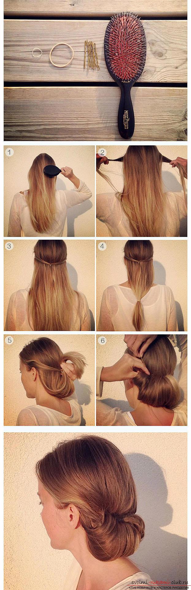 Стрижка для средних волос своими руками