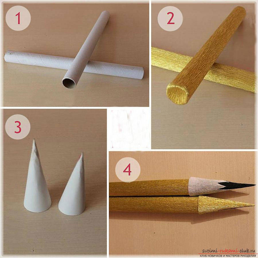 Поделка своими руками ручку