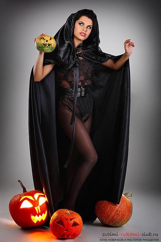 Советы и рекомендации по изготовлению оригинального костюма ведьмы своими руками.. Фото №1