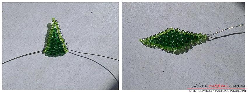 Как сплести глицинию из бисера, мастер класс с подробными фото и описанием плетения