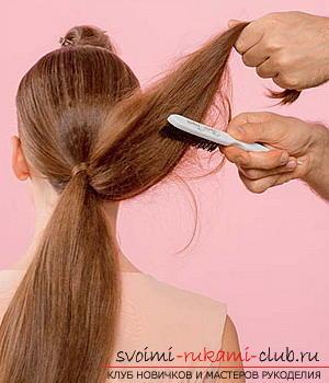 Причёски своими руками из хвостика