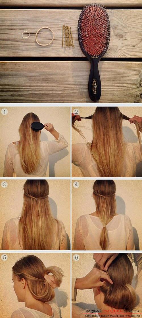 Как делать прически средней длины волос