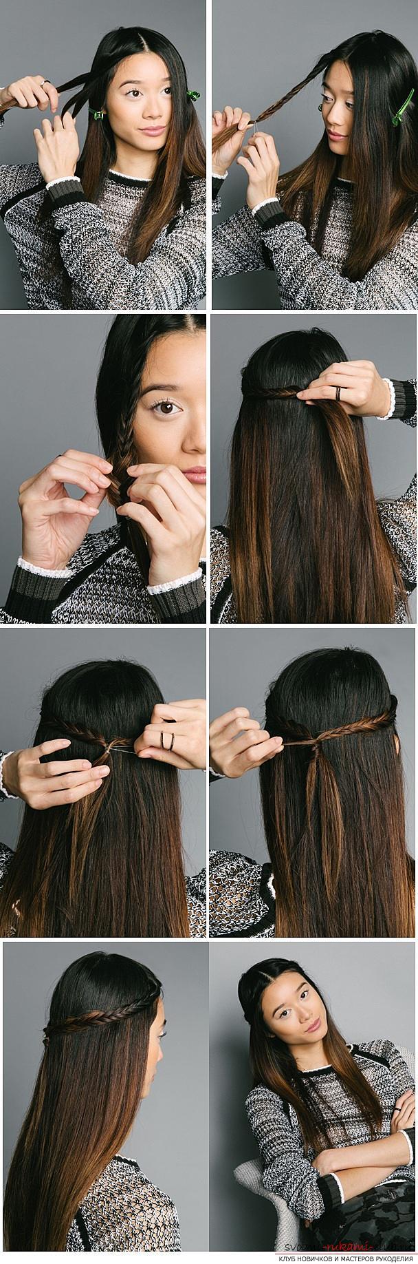 Прически своими руками в домашних условиях на волосы