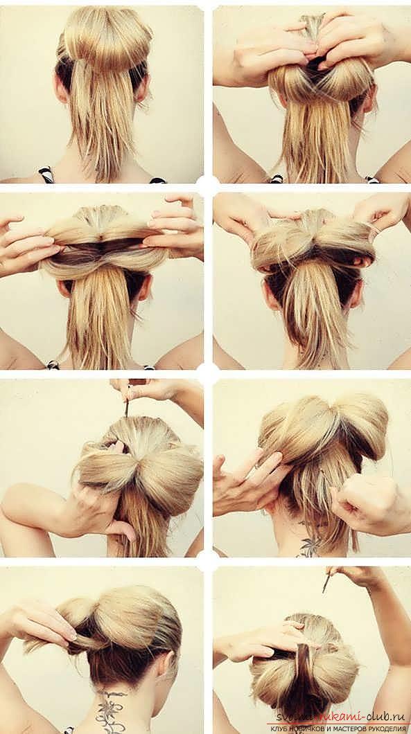 Причёски своими руками в домашних условиях на длинные волосы фото