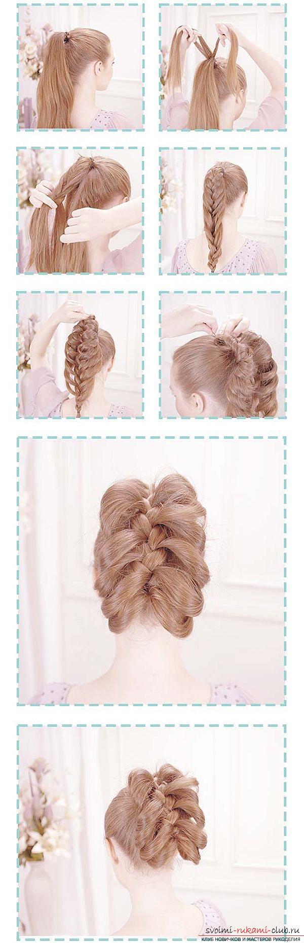 Причёски на длинные волосы своими руками в домашних условиях косички фото