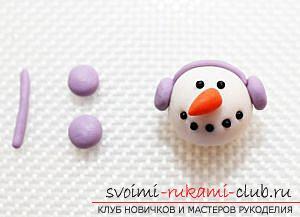 Новогодние герои для композиции - снежные персонажи и предметы своими руками