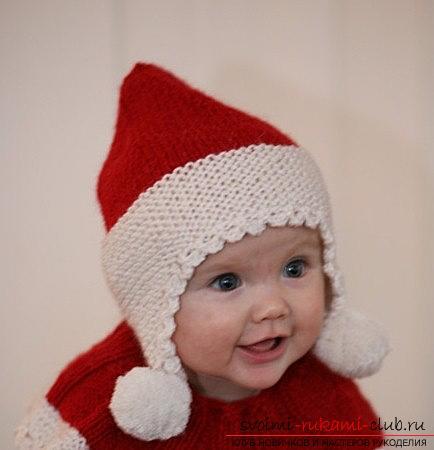 как сделать вязаную шапку для детей до года вязание крючком схемы
