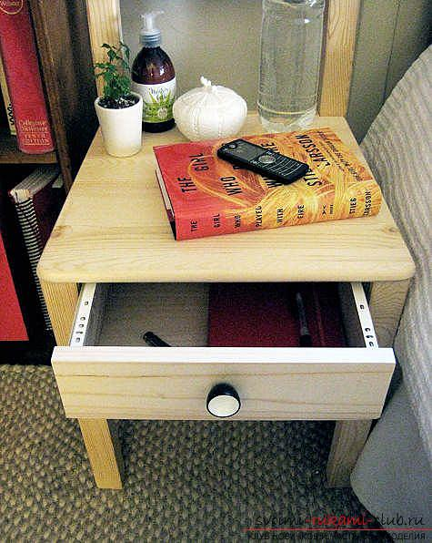 Тумбочка из стула