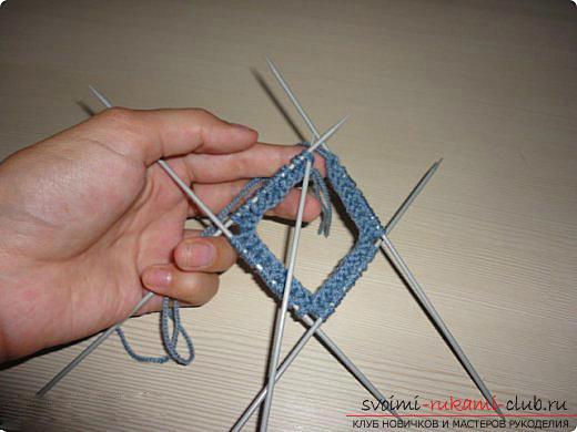 Мастер класс по вязанию митенок спицами для женщин с фото и описанием