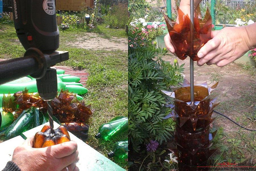 Из бутылок своими руками пошаговая инструкция