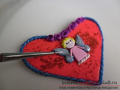 Валентинки из глины, материалы для валентинки бесплатно, фотографии.. Фото №3