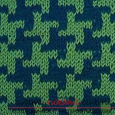 Быстро и легко научиться вязать узор гусиные лапки.</p> </div> <p> Фото №5″ width=»340″ height=»340″/> </p> <div style=