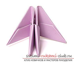 Как сделать лебедя оригами при помощи бумаги. своими руками и бесплатно.. Фото №10