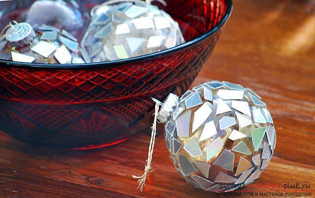 Поделки к новому году из лозы шары