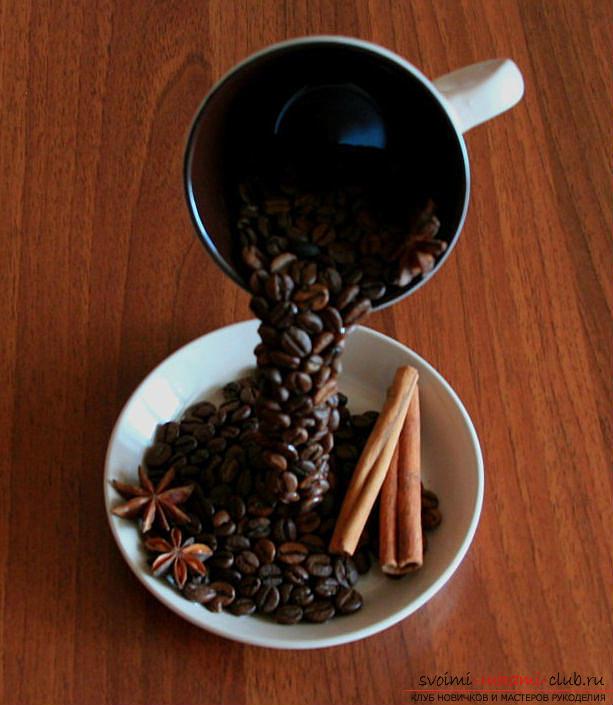 Как сделать парящую чашку с кофе мастер класс фото
