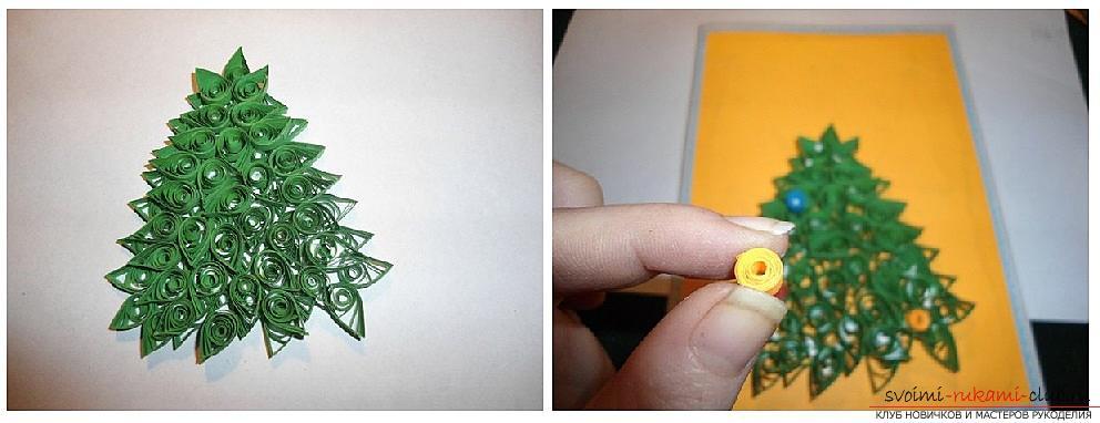Как сделать открытки к Новому Году своими руками, пошаговые фото и описание создания открыток в технике квилинг, айрис фолдинг, оригами
