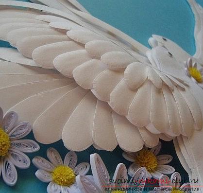 Как сделать свадебного голубя своими руками фото 501