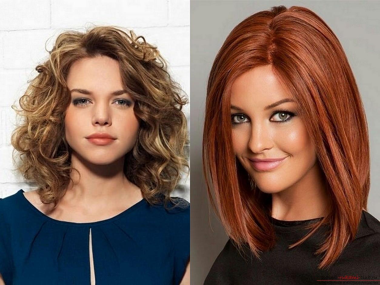 Прически на средние волосы. Более 1000 фото модных причесок для женщин
