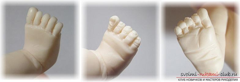 Мастер класс по лепке кукол из полимерной глины своими руками. Фото №31