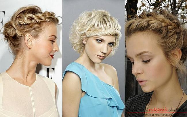 стойкие прически на средние волосы