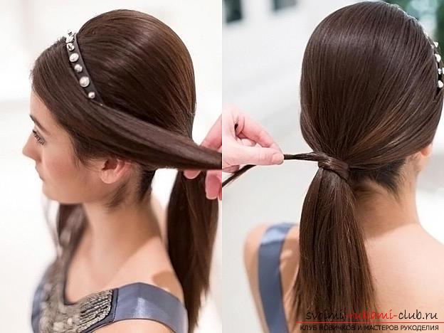 Праздничные прически на длинные волосы своими руками для девочки 184