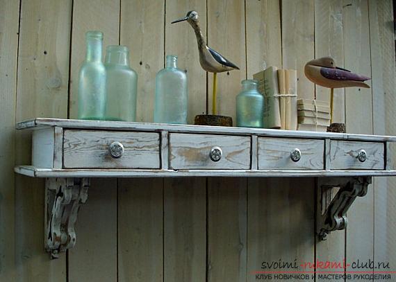 Декорируем старые предметы интерьера, советы и рекомендации по применению старых выдвижных ящиков