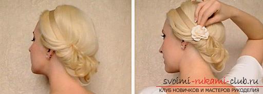 Прическа в греческом стиле на средние волосы, инструкция по созданию греческой прически своими руками.. Фото №3