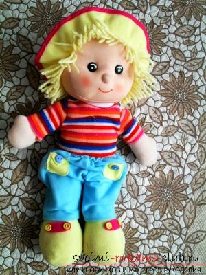 Кукла из капроновых колгот