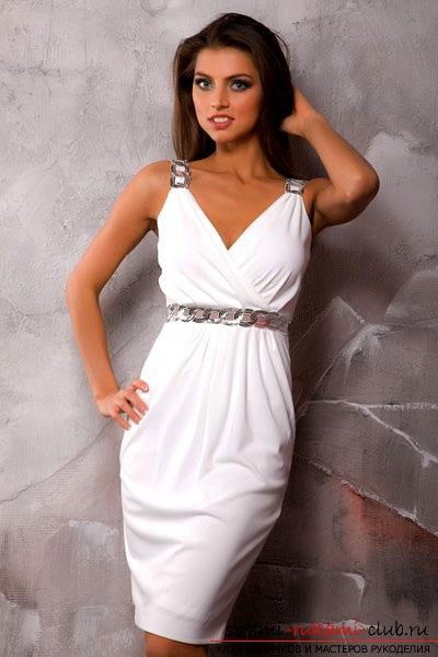 Сделать выкройку трикотажного платья