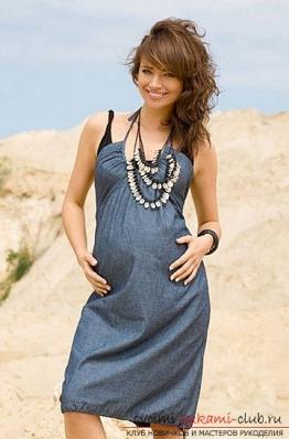 Выкройка платья для беременных своими руками фото 578