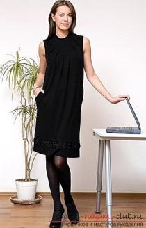 Как сшить сарафан для офиса, который будет подчеркивать вашу фигуру