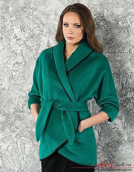 фото схема по шитью пальто с