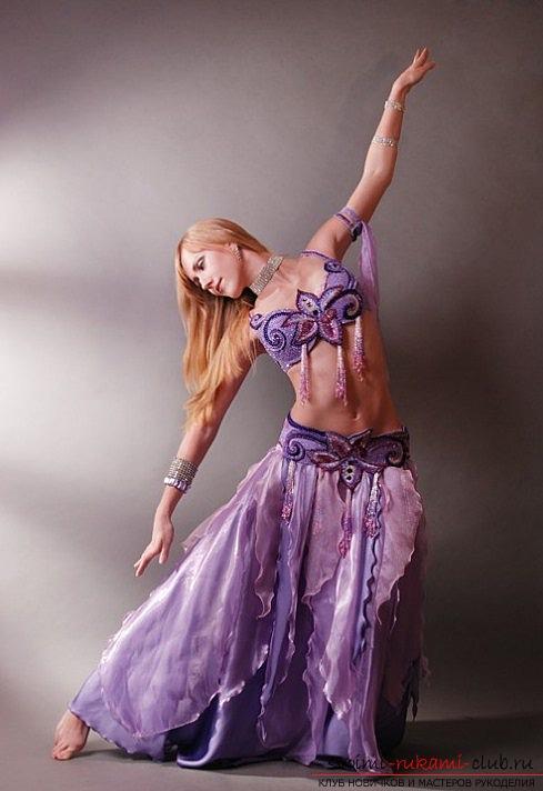 Костюм на восточные танцы своими руками