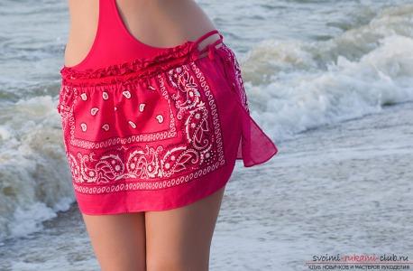 Как сшить пляжную юбку своими руками пошаговая инструкция