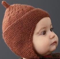 Вяжем эксклюзивную детскую шапочку спицами. Описание вязания