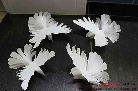 поделки голуби из бумаги