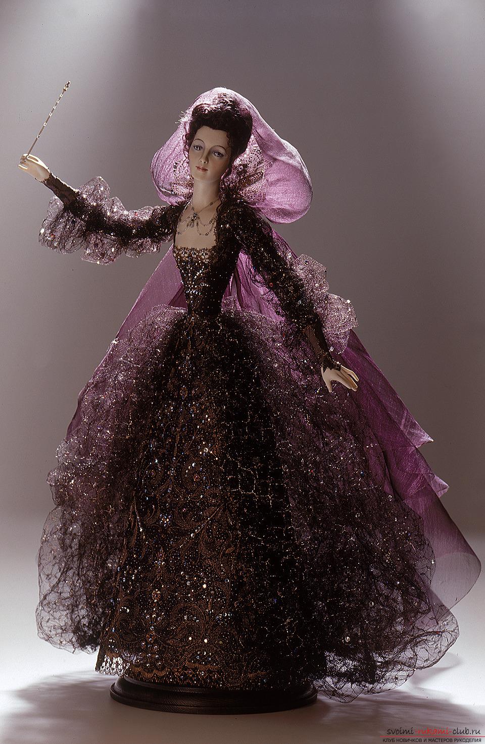 Свадебное платье для куклы барби своими руками