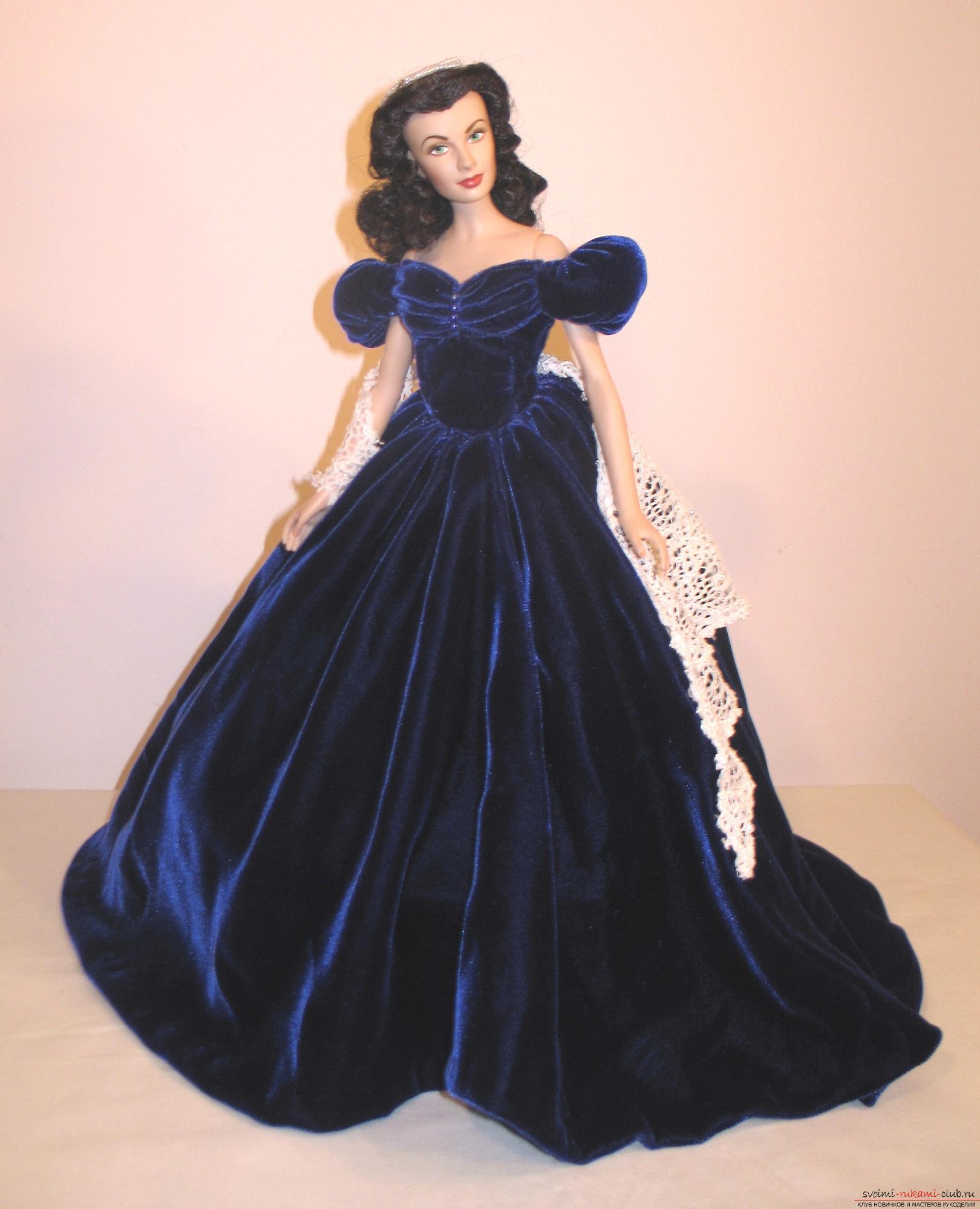Платье в горошек в стиле 80 107