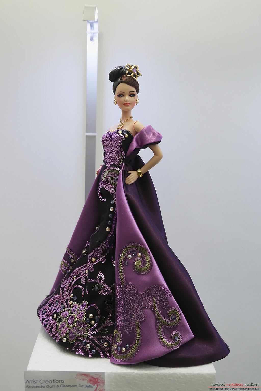 Куклы барби в шикарных платьях