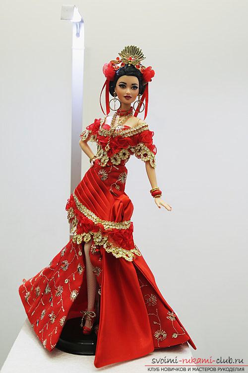 Куклы своими руками в восточном стиле